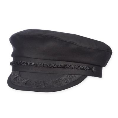 """Aegean® Size 7"""" Greek Fisherman Cap In Black by Bed Bath And Beyond"""