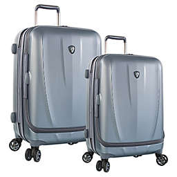 Heys® Vantage Smart Luggage™ Spinner Checked Luggage