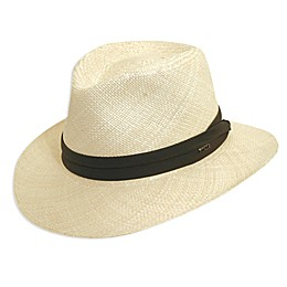 Scala™ Men's Panama Outback Hat in Natural
