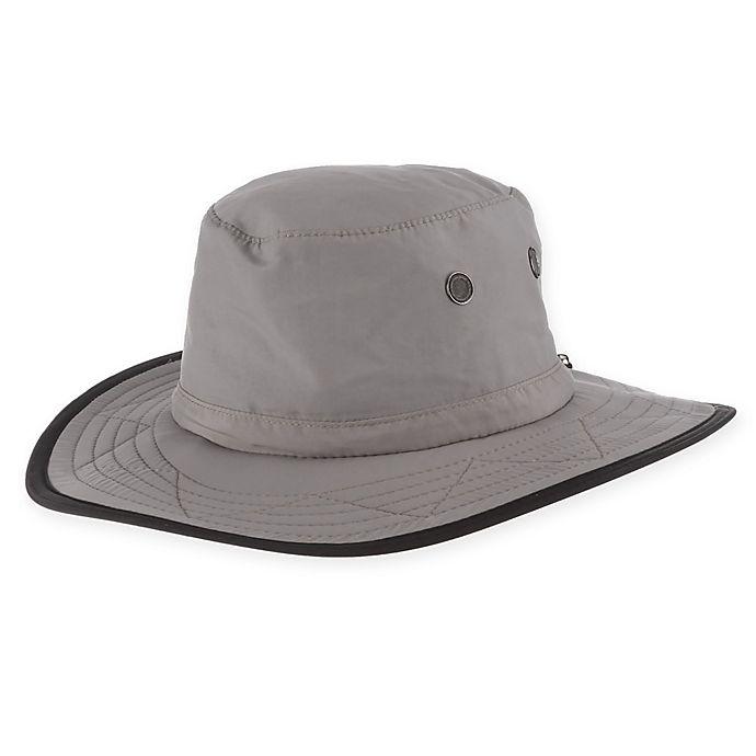 Alternate image 1 for DPC™ Large/X-Large Outdoor Supplex Safari Hat in Grey