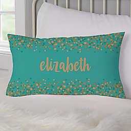 Sparkling Name Throw Pillow