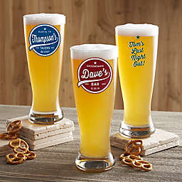 Brewing Co. Personalized Beer Pilsner Printed Glass