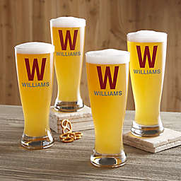 Personalized Luxury Pilsner Glass