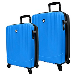 Mia Toro ITALY Hardside Spinner Checked Luggage