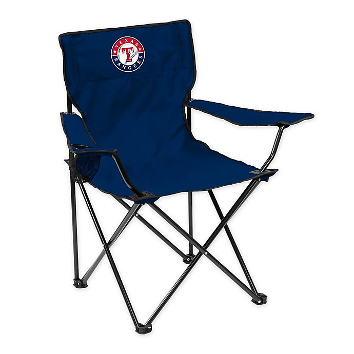 Alternate image 1 for MLB Texas Rangers Quad Chair