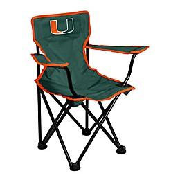 University of Miami Toddler Folding Chair