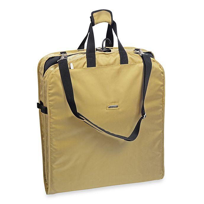 Alternate image 1 for WallyBags® 52-Inch Shoulder Strap Garment Bag - Khaki