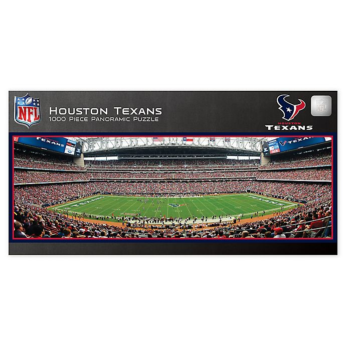 Alternate image 1 for NFL Houston Texans 1000-Piece Panoramic Jigsaw Puzzle