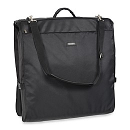 WallyBags® 45-Inch Framed Black Shoulder Strap Garment Bag