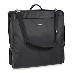 WallyBags® 45-Inch Framed Black Shoulder Strap Garment Bag