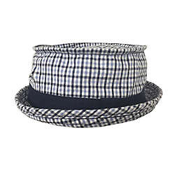Toby Fairy™ Plaid Porkpie Hat in Blue