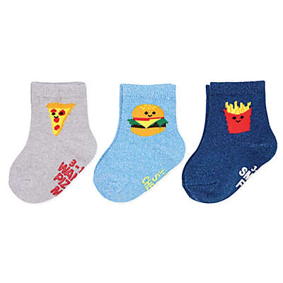 carter's® 3-Pack Food Crew Socks