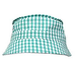 Toby Fairy™ Gingham/Solid Reversible Porkpie Hat