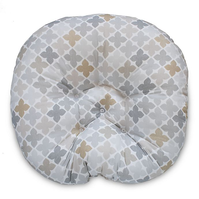 Alternate image 1 for Boppy® Four Square Newborn Lounger in Grey