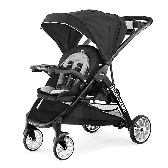 Alternate image 1 for Chicco® BravoFor2™ LE Double Stroller in Crux