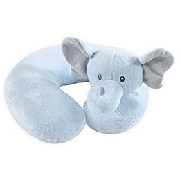 Hudson Baby® Boy Elephant Baby Head/Neck Support Pillow in Blue