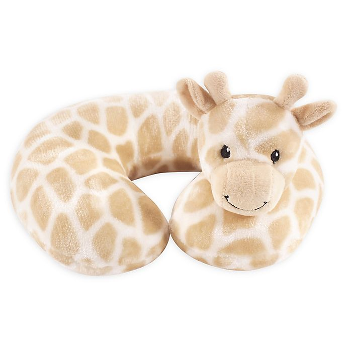 Alternate image 1 for Hudson Baby® Giraffe Baby Head/Neck Support Pillow in Beige