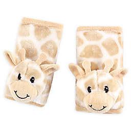 Hudson Baby® Cushioned Giraffe Strap Covers in Beige