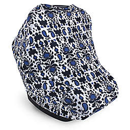 Yoga Sprout Multi-Use Car Seat Canopy in Blue Ikat