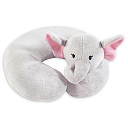 Hudson Baby® Pretty Elephant Baby Head/Neck Support Pillow in Grey