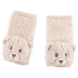 Hudson Baby® Cushioned Bear Strap Covers in Tan