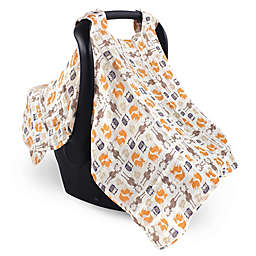Hudson Baby® Muslin Car Seat Canopy in Forest