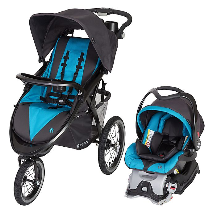 Alternate image 1 for Baby Trend® Expedition® Premiere Jogger Travel System in Piscina