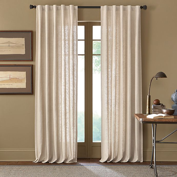 Alternate image 1 for Cambria® Malta Rod Pocket/Back Tab Window Curtain Panel