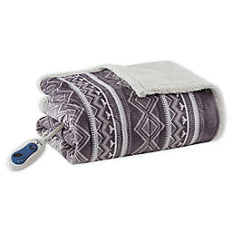 Woolrich® Anderson Oversize Reversible Heated Throw Blanket
