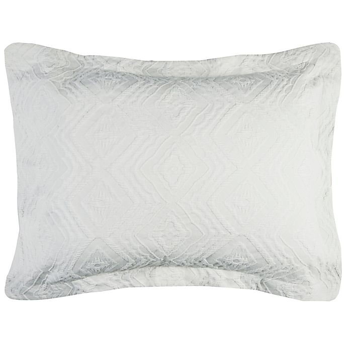 Alternate image 1 for Rizzy Home Alana King Pillow Sham in Ivory