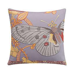 Tracy Porter® Lillian Velvet Butterfly Square Throw Pillow