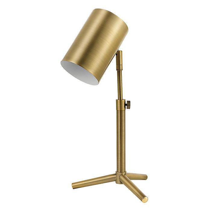 Globe Electric Pratt Reading Desk Lamp In Brass Bed Bath And Beyond Canada