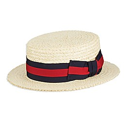 Scala™  Braided Laichow Boater Hat