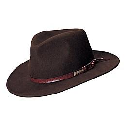 Indiana Jones All Seasons Outback Hat in Brown
