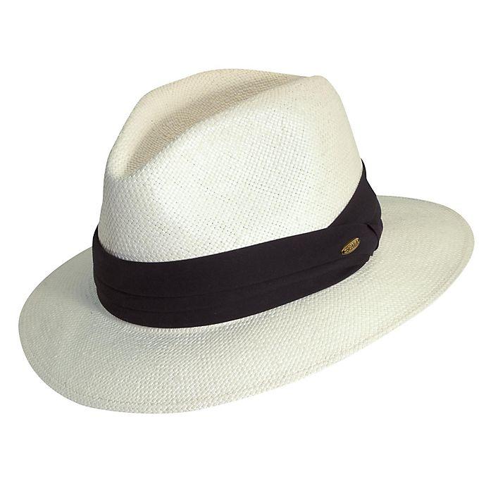 Alternate image 1 for Scala™  Toyo Safari Hat in Natural