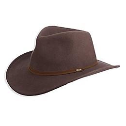 Scala™ Safari Earlap Western Outback Hat in Khaki