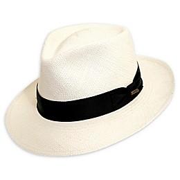 Scala™ ® Men's C-Crown Panama Hat in White