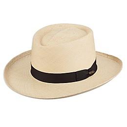Scala™  Panama Gambler Hat in Natural