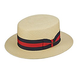 Scala™  Panama Skimmer Hat in Natural