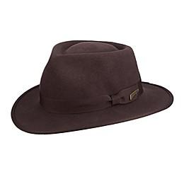 Young Indiana Jones Wool Felt Fedora in Brown