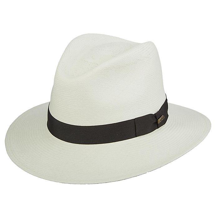 Alternate image 1 for Scala™  Large Grade 8 Panama Safari Hat in White
