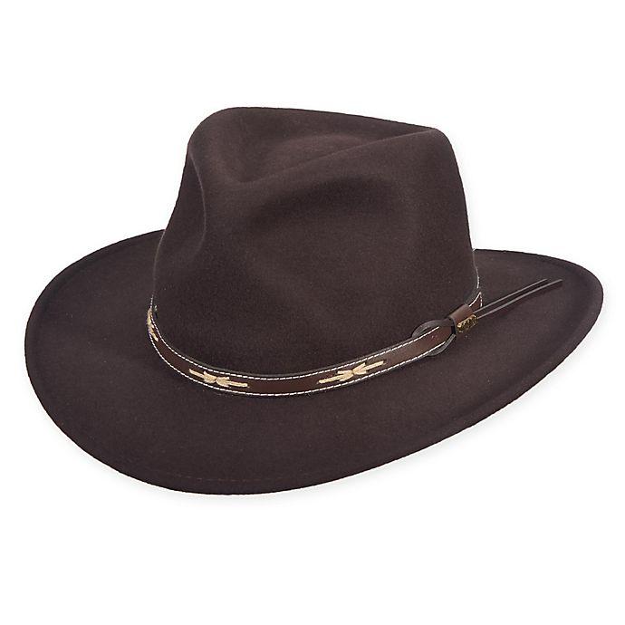 fc03adf734879 Scala™ Men s Wool Felt Outback Hat in