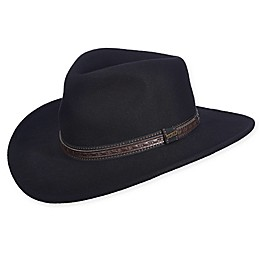 Scala™ Men's Classic Wool Safari Hat with Overlay