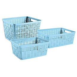 Starplast Plastic Wicker Basket
