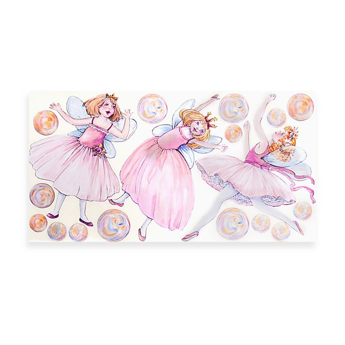 Alternate image 1 for Glenna Jean Pink Fairy Wall Decals