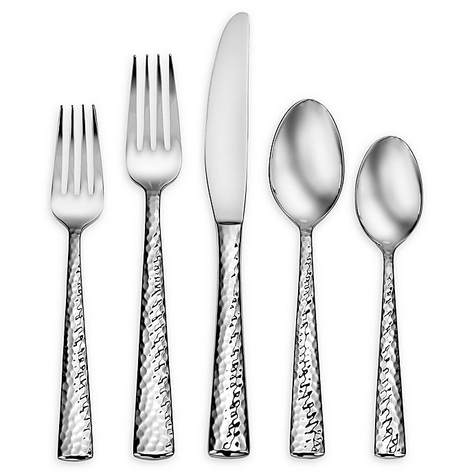 Alternate image 1 for Living by Robinson® Surry 5-Piece Flatware Place Setting