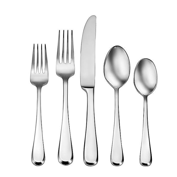 Alternate image 1 for Living by Robinson® Sommers 50-Piece Flatware Set
