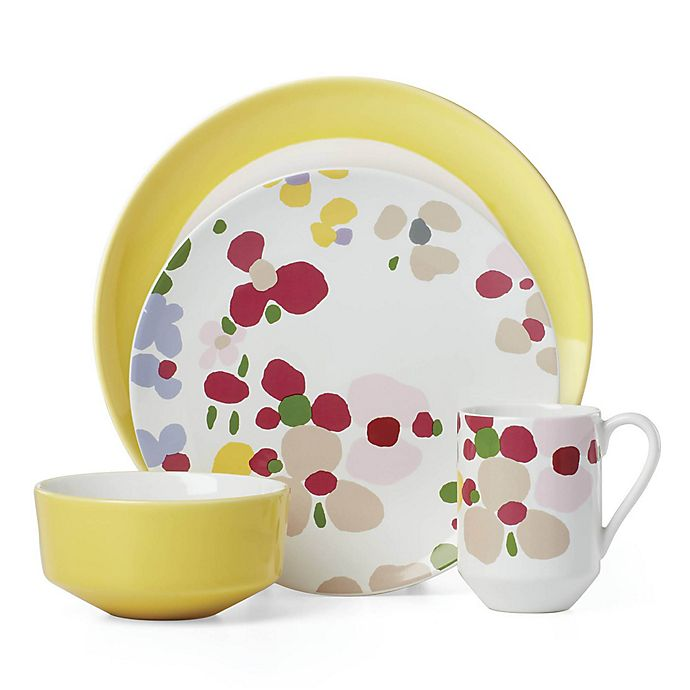 Alternate image 1 for kate spade new york Nolita Blush Floral™ Dinnerware Collection