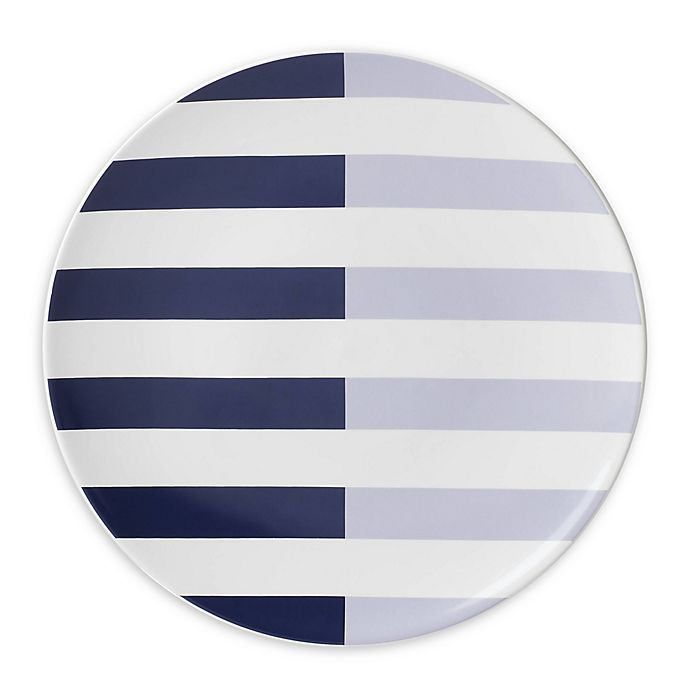 Alternate image 1 for kate spade new york Nolita Blue Accent Plate