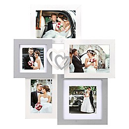 Malden® 5-Photo Heart Wall Collage Picture Frame